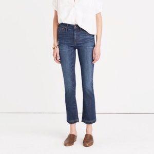 Madewell Cali Demi-Boot Jeans in Drop-Hem Edition